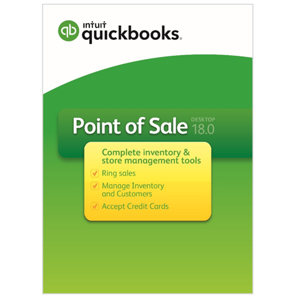 QuickBooks Point of Sale 18 0 Basic Without Payments